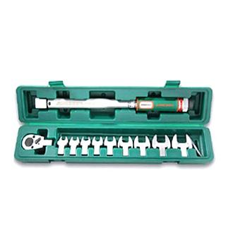 Jonnesway 11 Pcs Micrometer Torque Wrench Kit