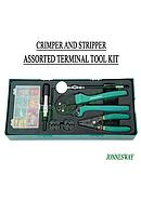 Jonnesway 70 pcs Crimper And Stripper Assorted Terminal Tool Kit