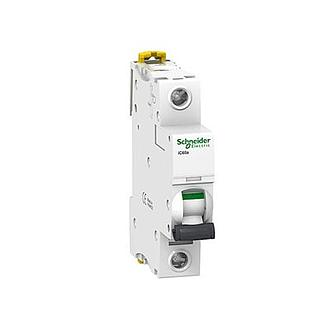 Schneider Electric Miniature Circuit Breaker C Curve iC60H 1P 50A
