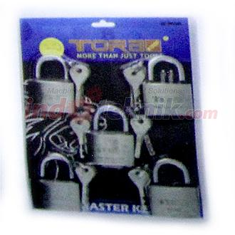 Tora Master Key Long / Gembok Master 5 Pcs