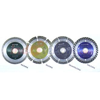 Tora Diamond Cutting Wheel Wet And Dry Cutting (4'' / 105 x 2mm x 20 /16mm)