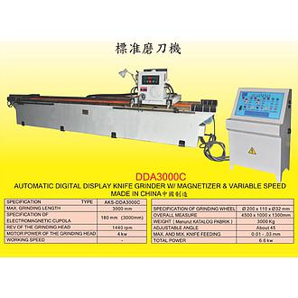 AKS Automatic Digital Display Knife Grinder W/ Magnetizer & Variable Speed AKS-DDA3000C