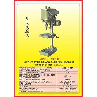 AKS Height Type Bench Tapping Machine AKS-DH20T