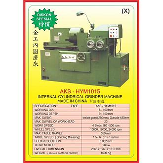 AKS Internal Clynlindrical Grinder Machine AKS-HYM1015