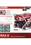 Elemax Value Series Generators/Genset SV-2800 SR (2.300 Watt/Starter Elektrik)