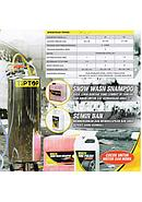 Tip Top Tabung Salju / Tangki Snow Wash ( Light Snow ) 80 Liter