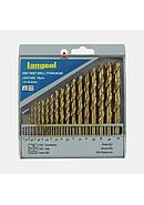 Langsol Mata Bor/Twist Drill Set HSS 19 Pcs (1 mm - 10 mm)