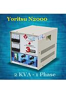 Yoritsu Stabilizer Listrik Engineer's Choice N2000 (2 KVA - 1 Phase)