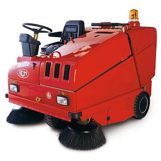 RCM Sweeper Ride-On/Supply Battery Powered 48V/Cleaning Operation Heavy Duty (MILLE E)
