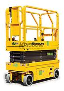 KRISBOW SCISSOR LIFT MOBILE 13.7M/15.7M SP-XH