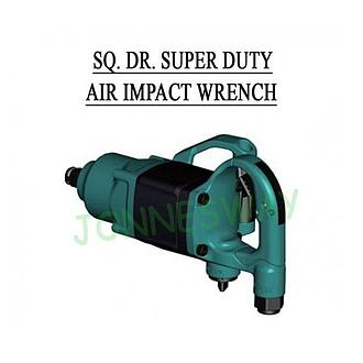 Jonnesway Dr. Super Duty Air Impact Wrench 1 Inci - Hijau + Anvil 6 Inci