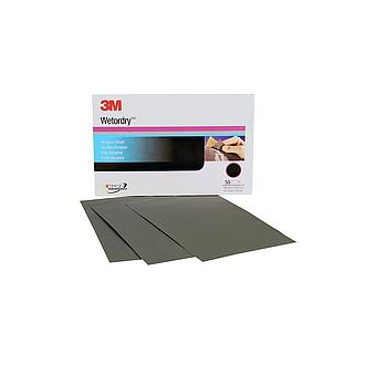 3M WET OR DRY PAPER SHEET P2500 SIZE (5 1/2 IN X 9 IN) 401Q
