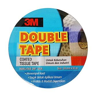 3M 9085 DOUBLE COATED TISSUE TAPE (SIZE 24 MM X 20 M)