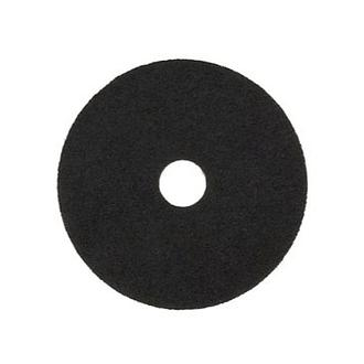 3M BUFFING PAD 7200 (20IN) BLACK STRIPPER - PAD POLES LANTAI