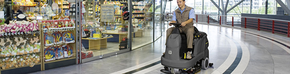 Karcher Profesional Scrubber Ride-on