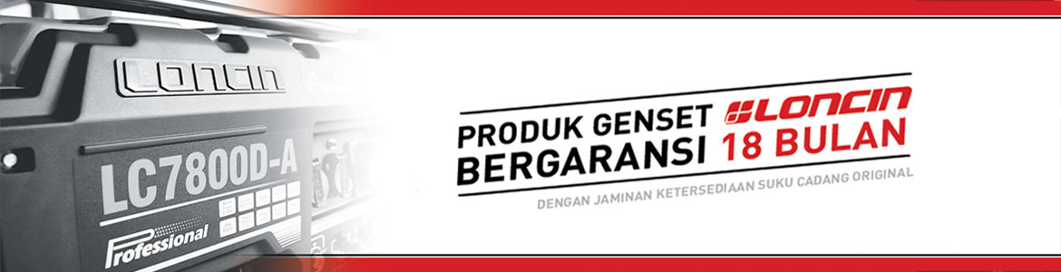 Baner Loncin Generator & Power Product Indoteknik.com